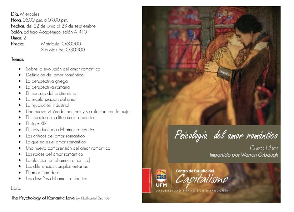 La psicología del amor romántico (INFO)